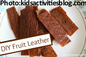DIY Fruit Leather
