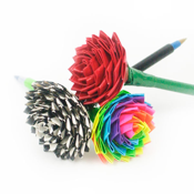Duck Tape Rose Pen