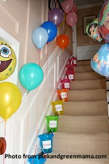 Kids Birthday Party Games Ideas & Birthday Party Themes: Balloons