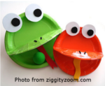 Plate Frogs