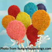 Balloon Pastry Pops