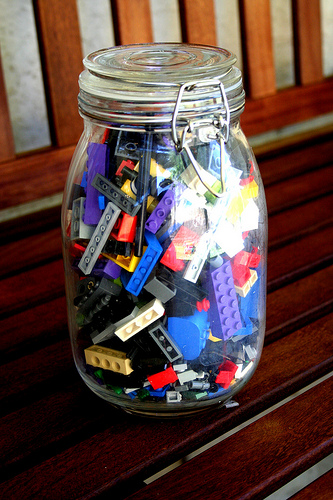 Jar of Legos
