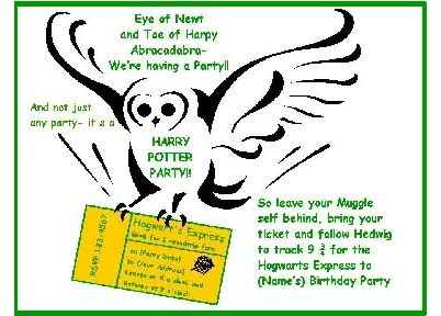 Kids Birthday Party Games Birthday Party Ideas Harry Potter Party